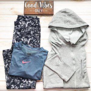 NIKE, GAIAM & SOHO SPORT Activewear 3-Piece Bundle